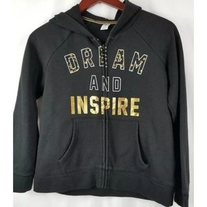 Old Navy Girls Jacket Hoodie Dream and Inspire 14